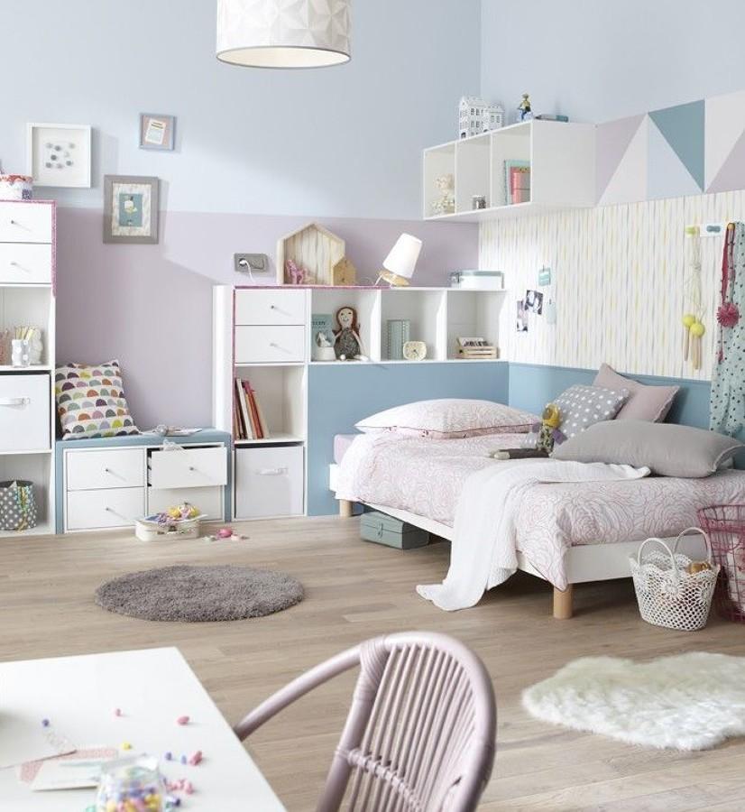 Aposte em tons pastel em quartos infantis - Quarto infantil